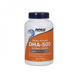 """Жирные кислоты """"NOW DHA 500mg 180 софтгельс"""" (Производитель NOW Foods)"""