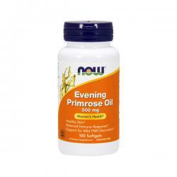 """Жирные кислоты """"NOW Evening Primrose Oil 500 мг 100 капсул"""" (Производитель NOW Foods)"""