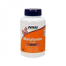 """Поддержка нервной системы """"NOW Melatonin 5mg 180 викапс"""" (Производитель NOW Foods)"""