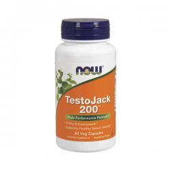 """Повышение тестостерона """"NOW Testo Jack 200 60 капсул"""" (Производитель NOW Foods)"""