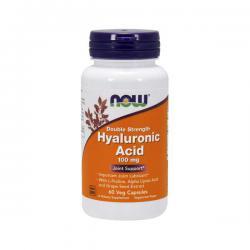 """Желатин """"NOW Hyaluronic Acid 100 мг 60 капсул"""" (Производитель NOW Foods)"""