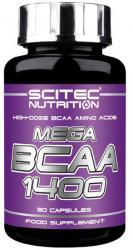 "BCAA ""Scitec Nutrition MEGA BCAA 1400 90 капс"" (Производитель Scitec Nutrition)"
