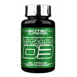 """Витамины и минералы """"Scitec Nutrition Vitamin D3 250 капс"""" (Производитель Scitec Nutrition)"""