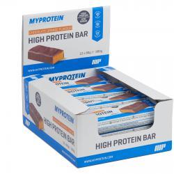 """Протеиновые """"Myprotein High Protein Bar 12 * 80 г"""" (Производитель Myprotein)"""