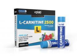 "В ампулах ""VPLab L-Carnitine 2500"" (Производитель VPLab Nutrition)"