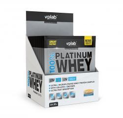 """Сывороточные """"VPLab 100% Platinum Whey 10*30 г"""" (Производитель VPLab Nutrition)"""