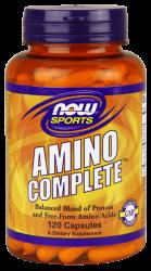 """Аминокислотные комплексы """"NOW Amino Complete 120 caps"""" (Производитель NOW Foods)"""