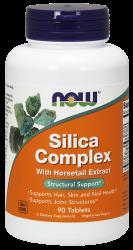 """Для зрения """"NOW Silica Complex 180 tabs"""" (Производитель NOW Foods)"""