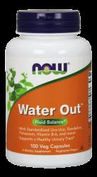"""Для простаты """"NOW Water Out 100 vcaps"""" (Производитель NOW Foods)"""