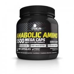 """Аминокислотные комплексы """"OLIMP Anabolic Amino 5500  400 капсул"""" (Производитель OLIMP)"""