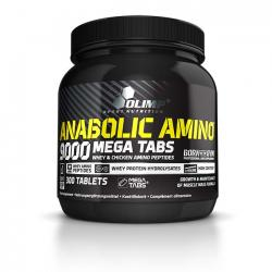 """Аминокислотные комплексы """"OLIMP Anabolic Amino 9000 300 таблеток"""" (Производитель OLIMP)"""