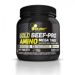 """Аминокислотные комплексы """"OLIMP Gold Beef Pro Amino Mega 300 таблеток"""" (Производитель OLIMP)"""