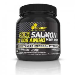 """Аминокислотные комплексы """"OLIMP Gold Salmon 12000 Mega 300 таблеток"""" (Производитель OLIMP)"""