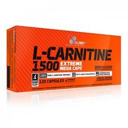 """Капсулы и таблетки """"OLIMP L-Carnitine 1500 Extreme Mega Caps 120 капсул"""" (Производитель OLIMP)"""