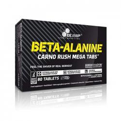 """Предтренировочные комплексы """"OLIMP Beta-Alanine Carno Rush Mega 80 таблеток"""" (Производитель OLIMP)"""