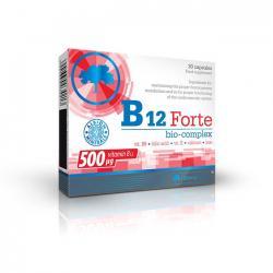 """Витамины и минералы """"OLIMP Labs B12 Forte Bio-complex 30 капсул"""" (Производитель Olimp Labs)"""