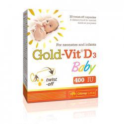 """Витамины и минералы """"OLIMP Labs Gold-Vit D3 Baby 30 капсул"""" (Производитель Olimp Labs)"""