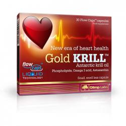 """Жирные кислоты """"OLIMP Labs Gold Krill 30 капсул"""" (Производитель Olimp Labs)"""