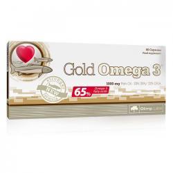 """Жирные кислоты """"OLIMP Labs Gold Omega 3 65% 60 капсул"""" (Производитель Olimp Labs)"""