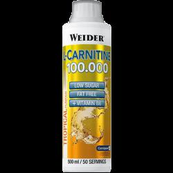 "Концентрат ""Weider L-Carnitine 100.000 500мл"" (Производитель Weider)"