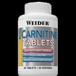 "Капсулы и таблетки ""Weider L-Carnitine Tablets 60 таблеток"" (Производитель Weider)"