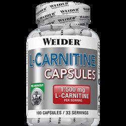 "Капсулы и таблетки ""Weider L-Carnitine Capsules 100 капсул"" (Производитель Weider)"