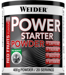 """Гуарана и кофеин """"Weider Power Starter Powder 400 г"""" (Производитель Weider)"""