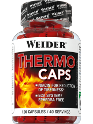 """Термогеники """"Weider Thermo Caps 120 капсул"""" (Производитель Weider)"""