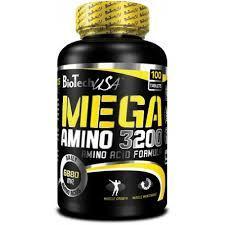 """Аминокислотные комплексы """"BioTech USA Mega Amino 3200 100 tab"""" (Производитель BioTech USA)"""