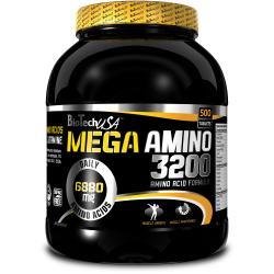 """Аминокислотные комплексы """"BioTech USA Mega Amino 3200 500 tab"""" (Производитель BioTech USA)"""