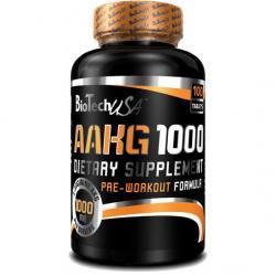 """Аргинин """"BioTech USA AAKG 1000 mg 100 tab"""" (Производитель BioTech USA)"""