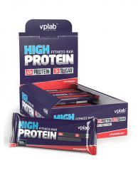 """Распродажа """"Расп. VPLab High Protein Fitness Bar 100г (01.11.18)"""" (Производитель VPLab Nutrition)"""