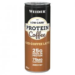 "Протеиновые коктейли ""Weider Low Carb Protein Coffee Iced Coffee Latte 250 мл"" (Производитель Weider)"